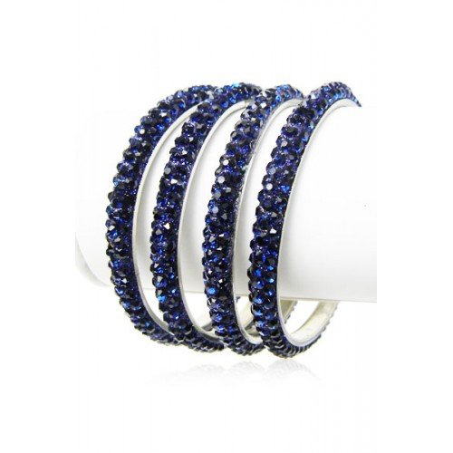 lanka blue bangles gemstone cornflower natural item bracelet sri luxurious silver sapphire solid